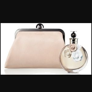 New Valentino makeup pouch cosmetic clutch